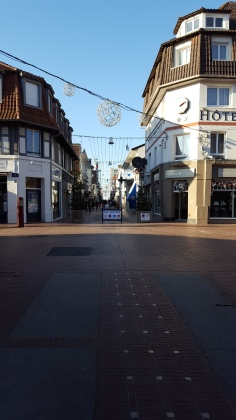 A queit sunday afternoon in La Touquet